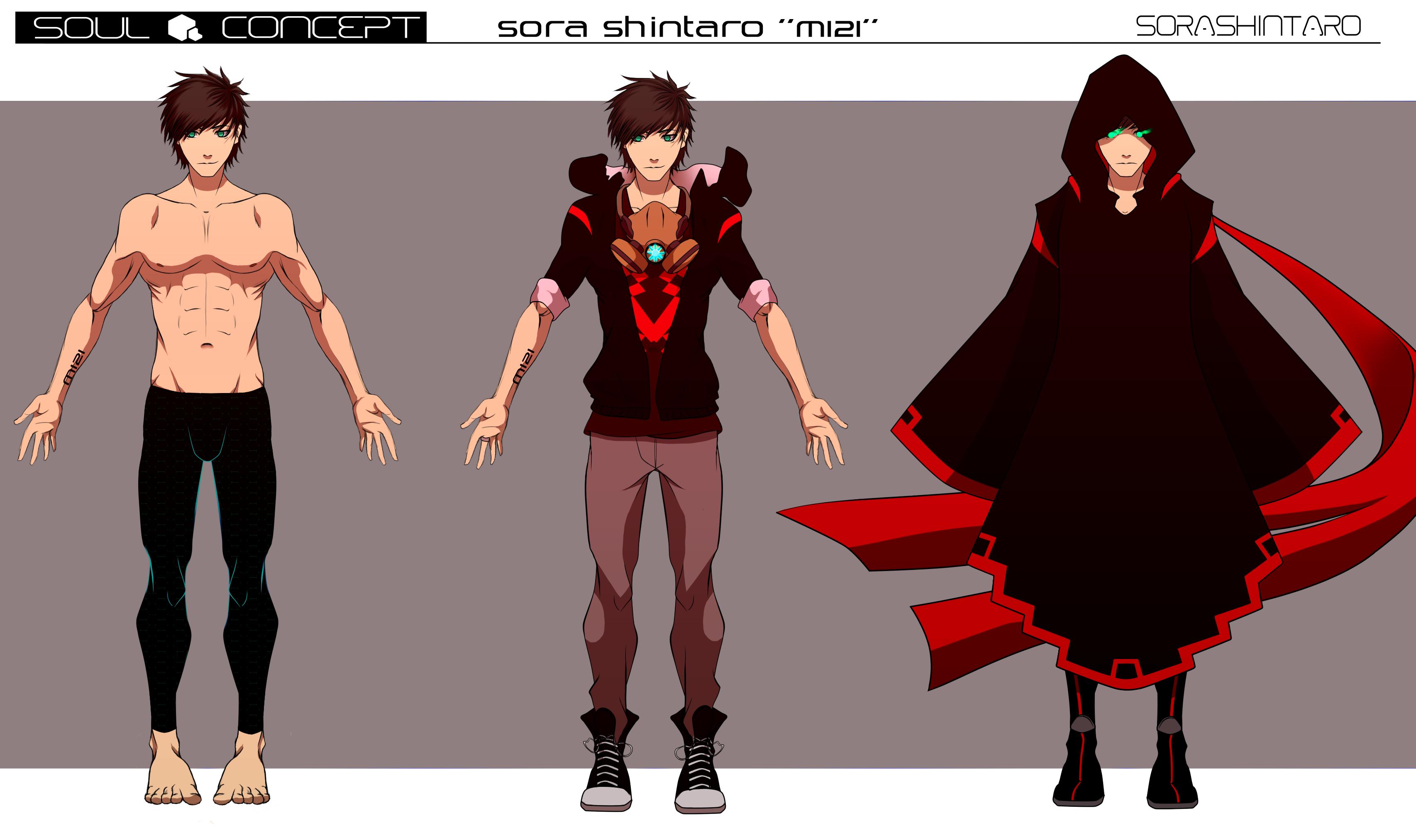 Soul Concept: Sora by Sora-Shintaro