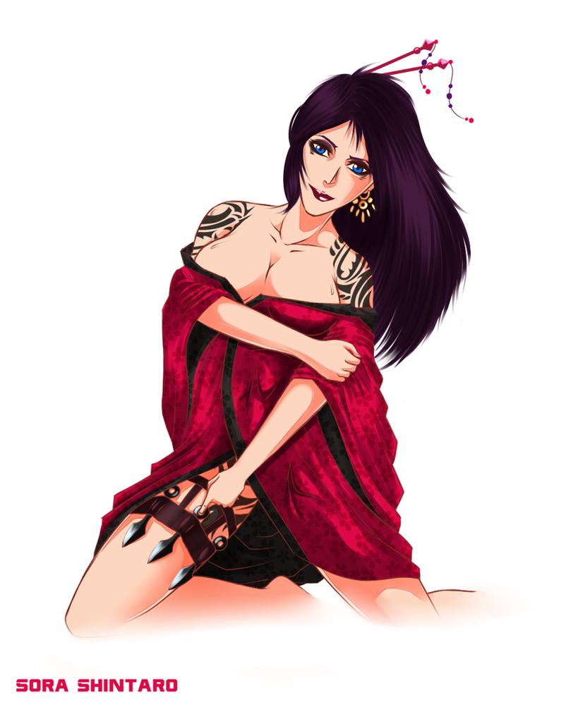 PPC Mrs. No, The Geisha Boss by Sora-Shintaro