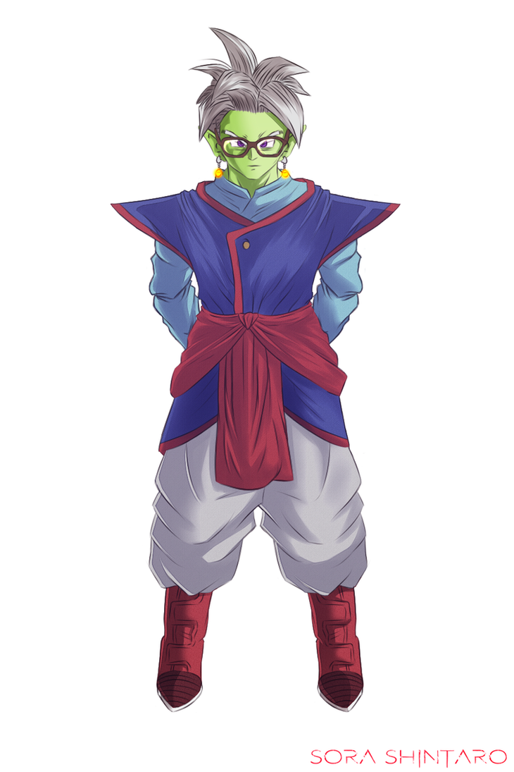 Dragon Ball Super OC - Supreme Kai Assistant by Sora-Shintaro