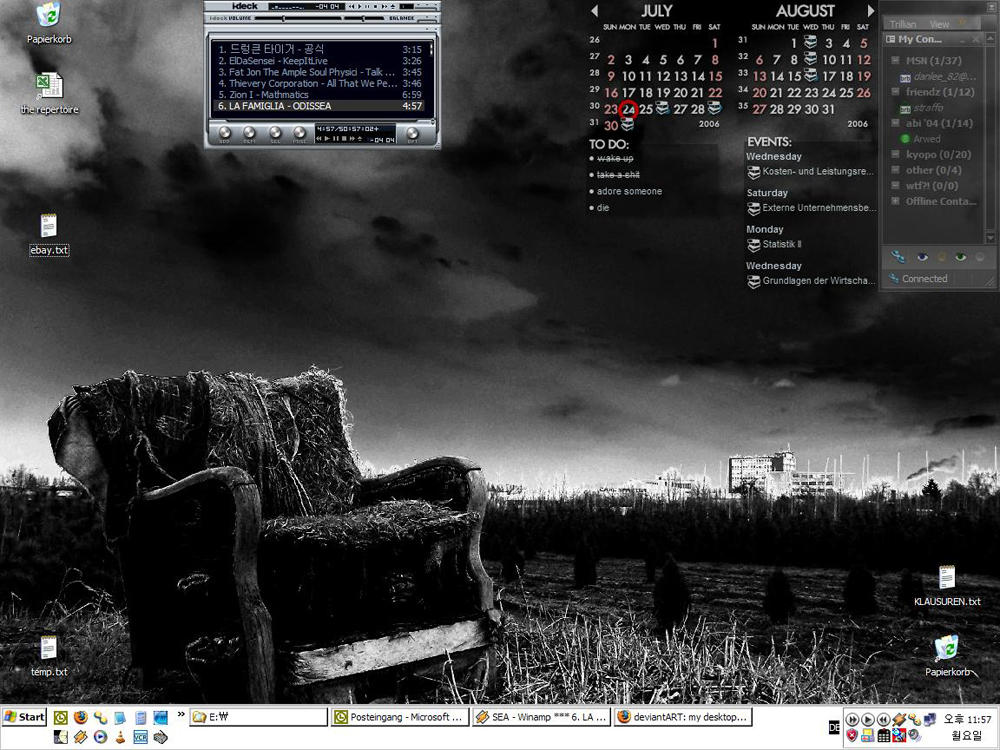 my desktop v.1 by ill23