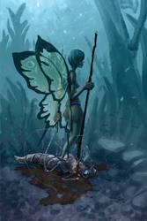 Butterfly Huntress