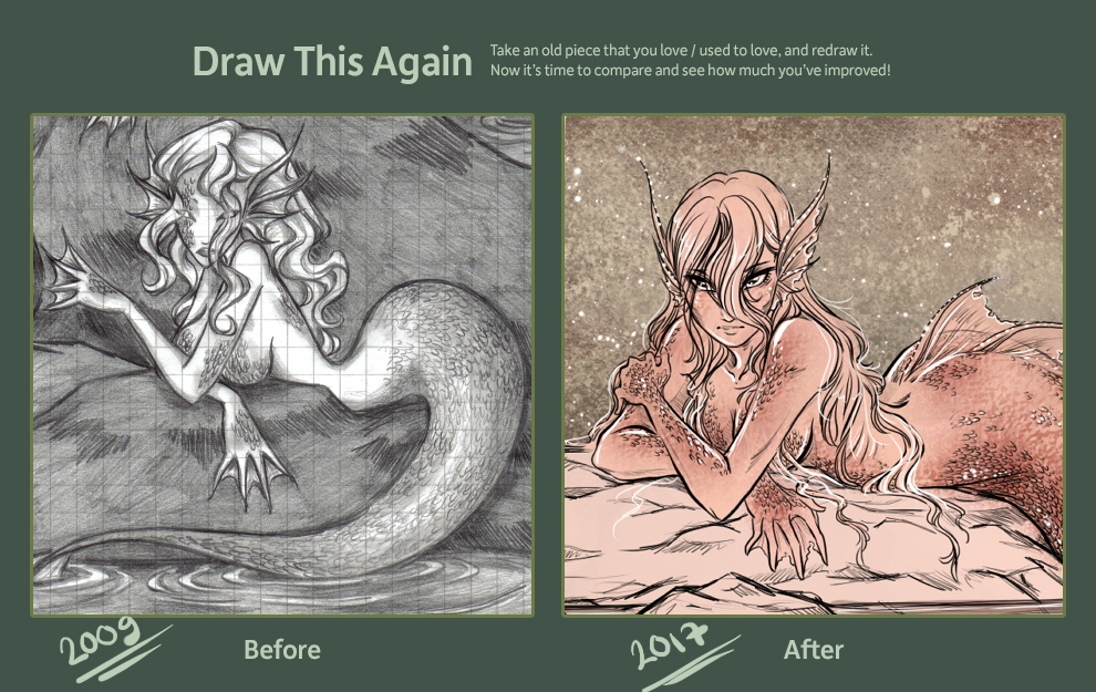 Draw This Again by draupnis