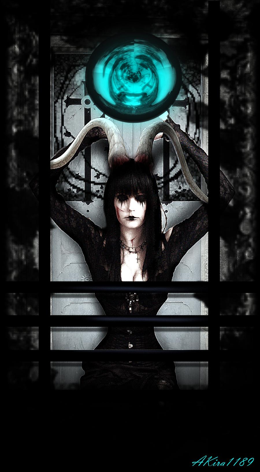 Inside the frame by AKira1189