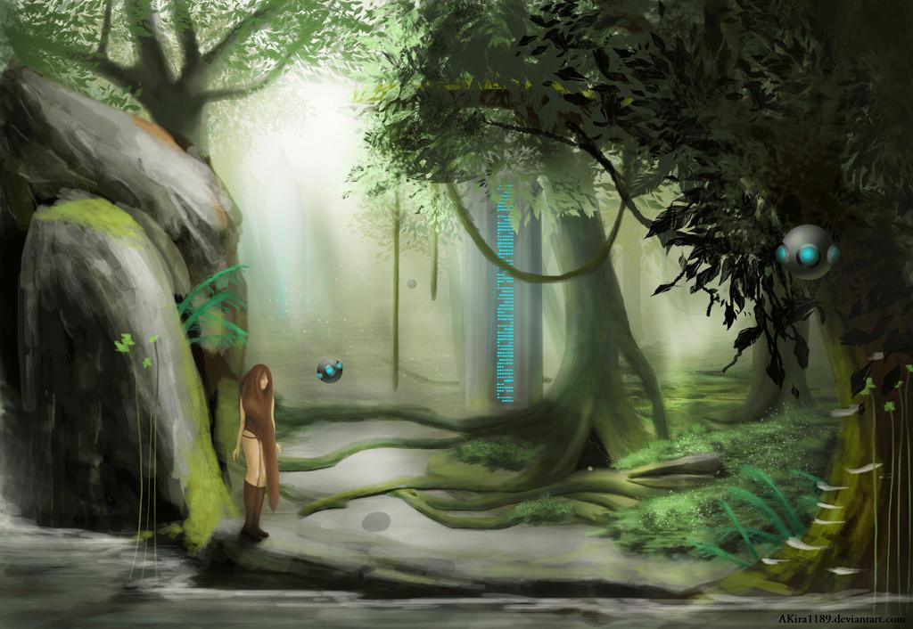 Forgotten Land by AKira1189