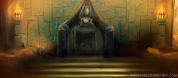 IMPERIAL LEGENDS Wizzard's Throne by AKira1189