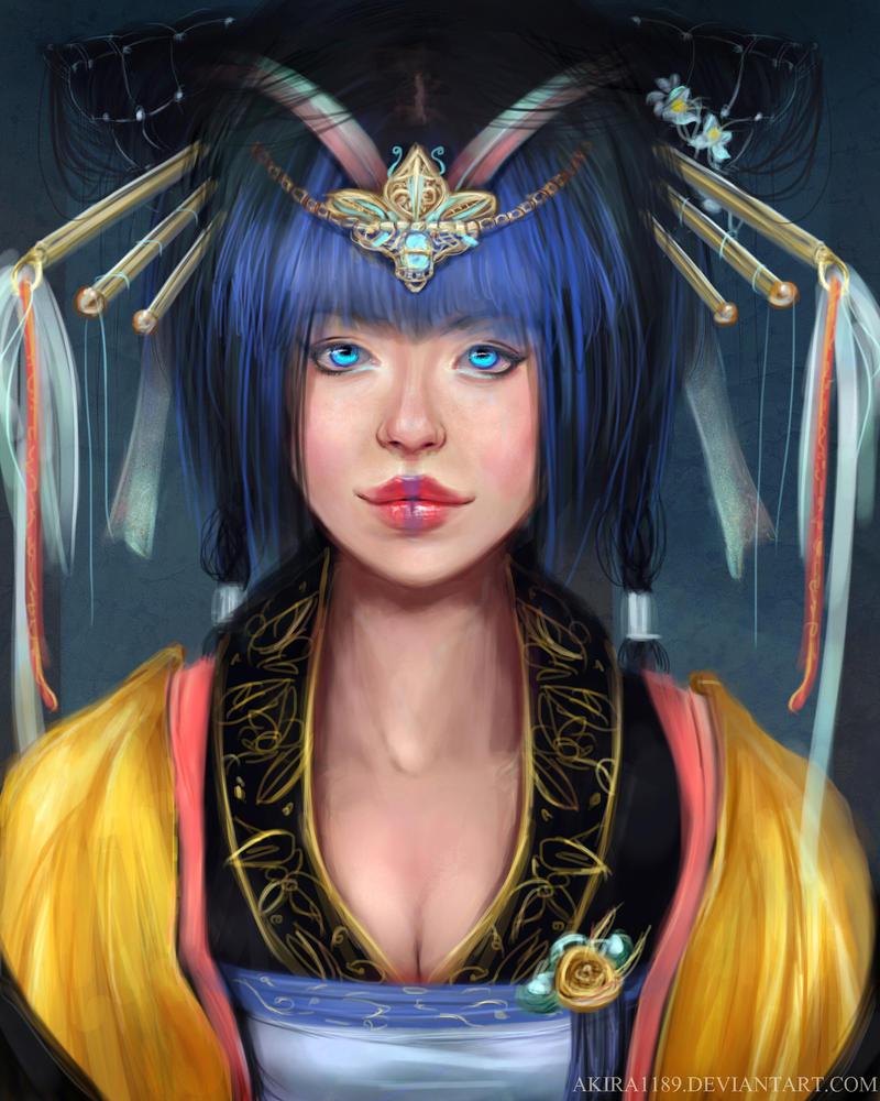Princess Maiko -My OC by AKira1189