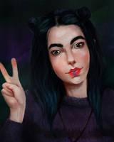 Autoportrait ^^