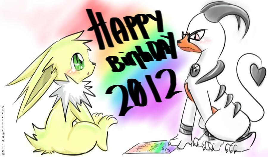 Happy Birthday Keron's Bro by OkayIlie