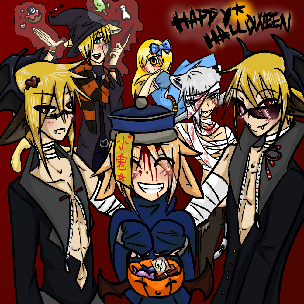 Halloween 2012: Trick or Treat! by OkayIlie