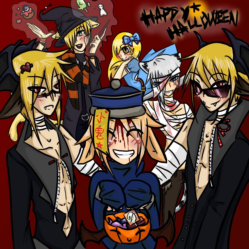 Halloween 2012: Trick or Treat! by OkayIlie