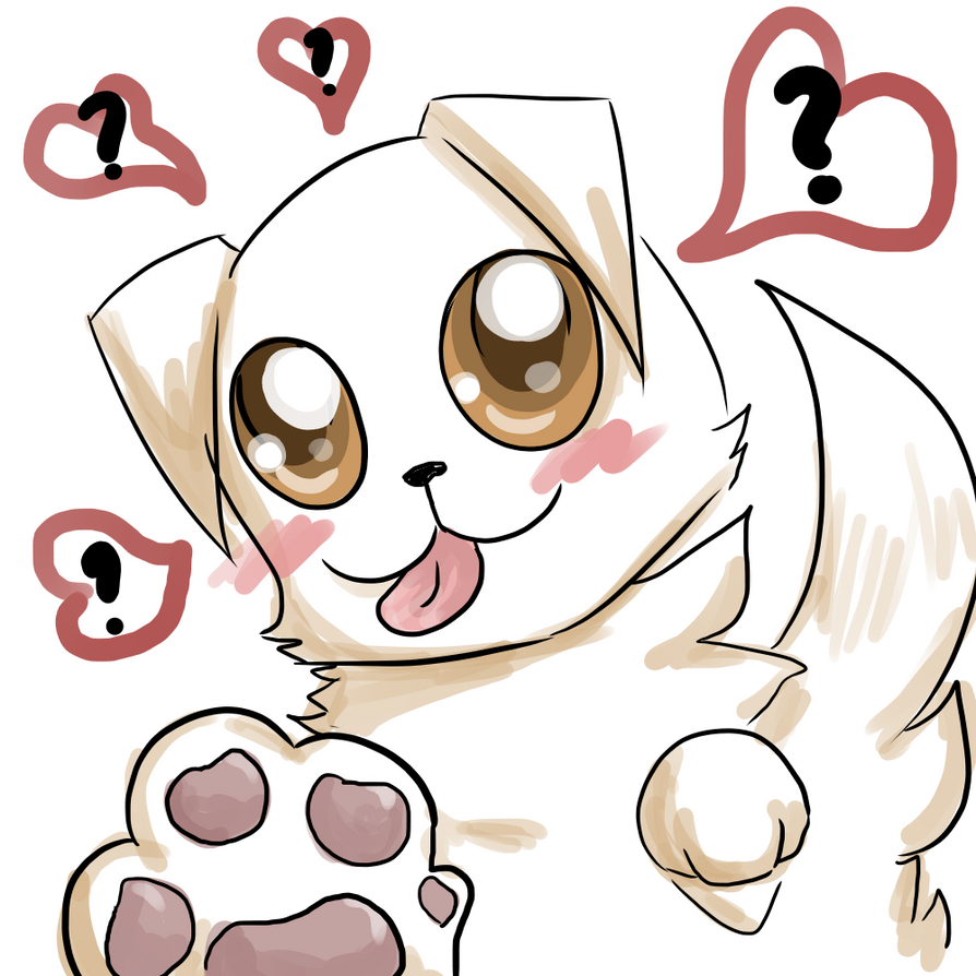 Puppy Love by OkayIlie