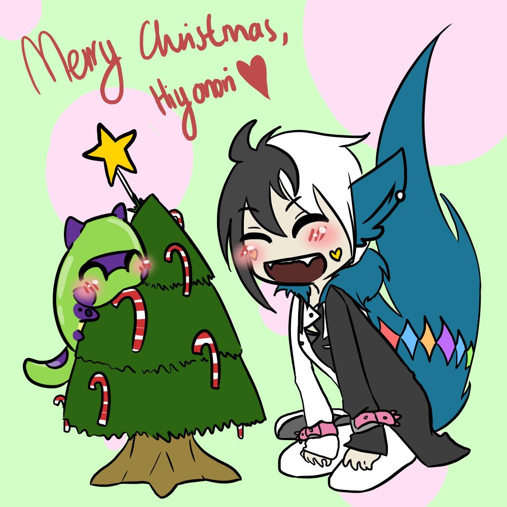 [Gift] Merry Christmas, Hiyonori-Yumiko by atlas-rabbit