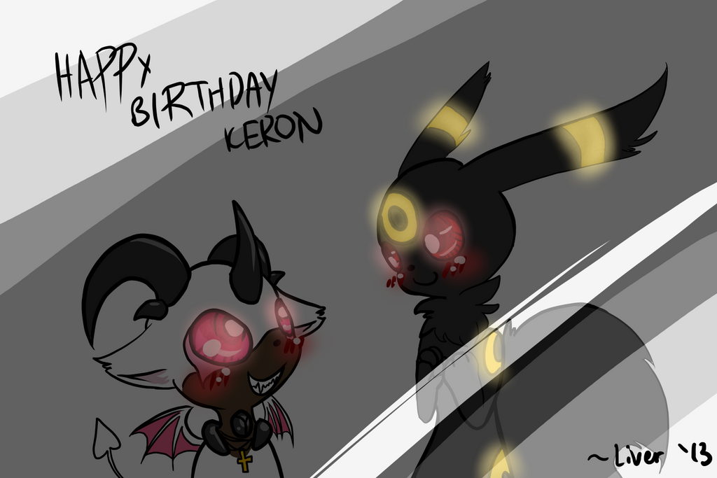 Happy Birthday Keron-KKL by OkayIlie