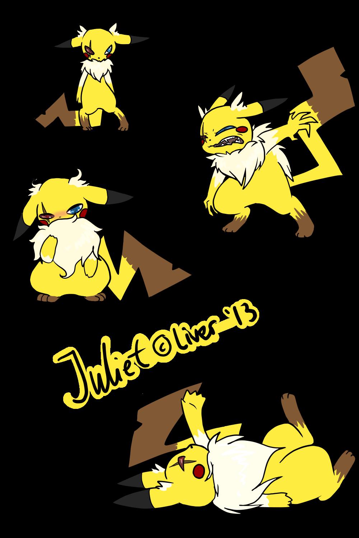 Juliet Shocktarot by OkayIlie