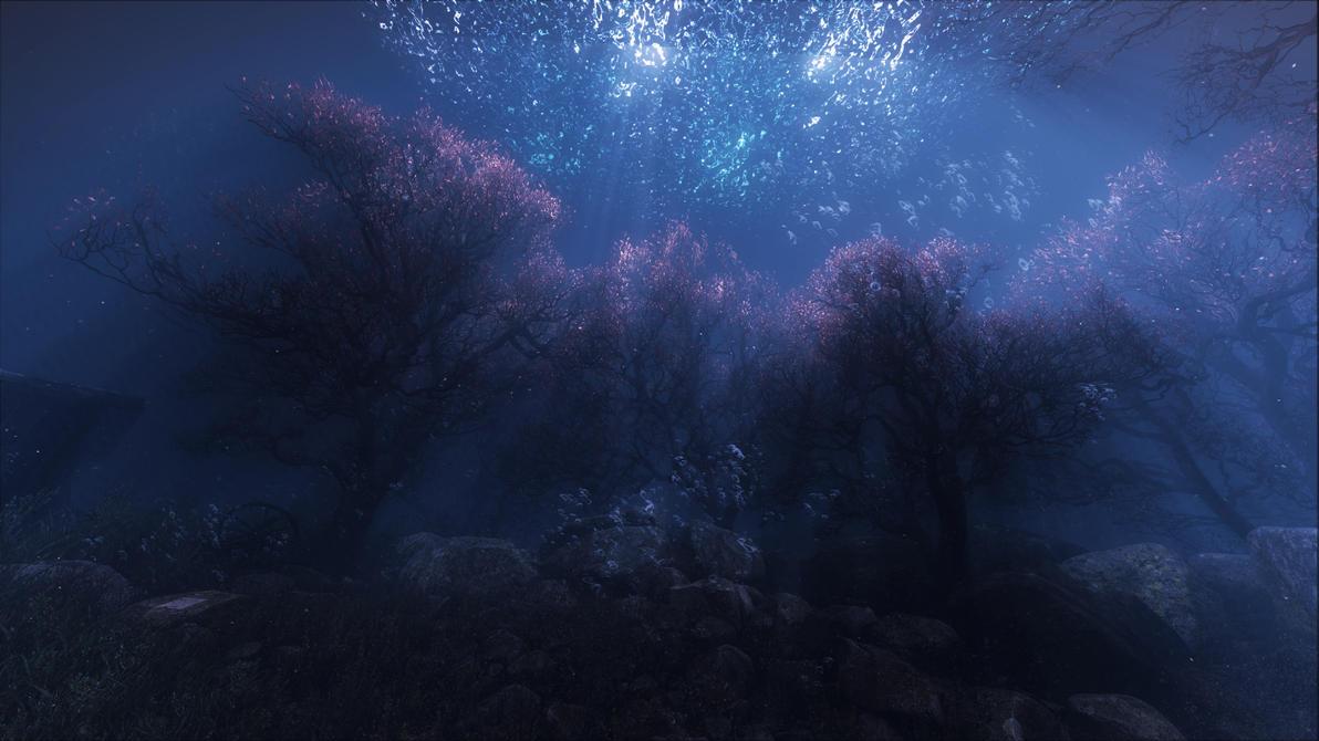 Forest Underwater by l0kiderhase