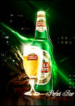 Y love the beer