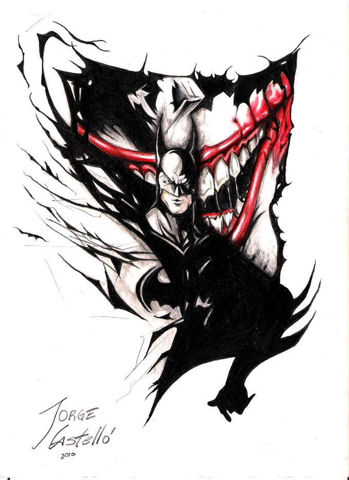 Batman Y El Joker By Uradesing On Deviantart