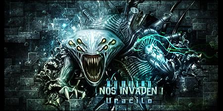 Nos Invaden by UraDesing
