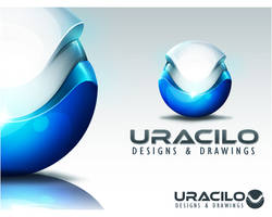 Wallpaper UraLogo by UraDesing