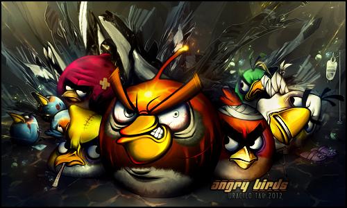 Ungry Birds by UraDesing