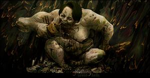gluttony by UraDesing
