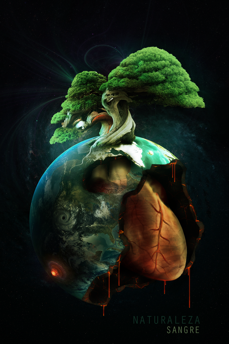 Naturaleza Sangre by UraDesing