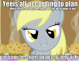 Derpy's plan? by MLPTrixie69