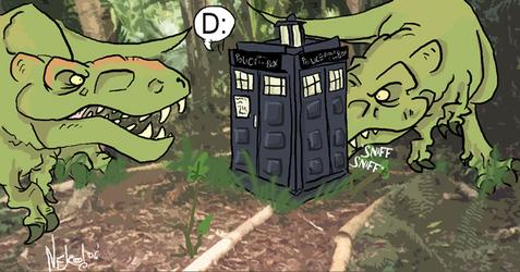 Doctor Who: TARDIS no Likey.
