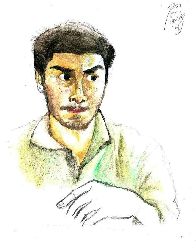 watercolor me by faqundo