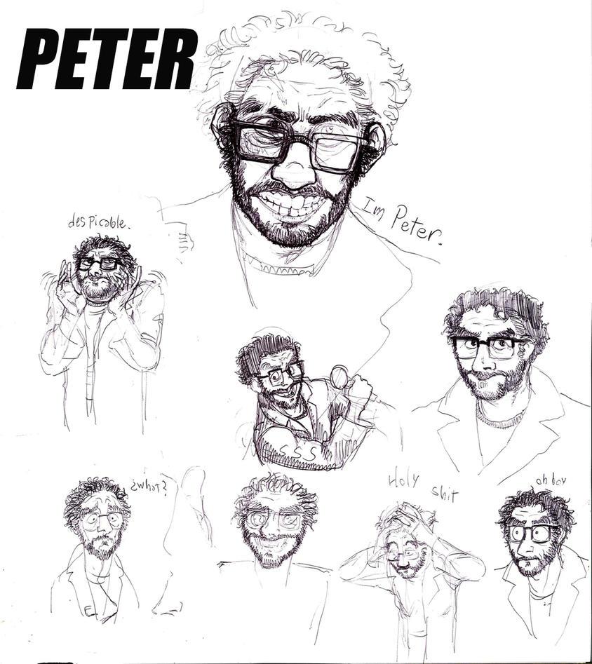 he is peter by faqundo