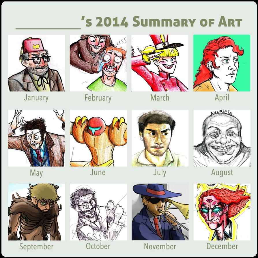 2014 Summary Of Art by faqundo