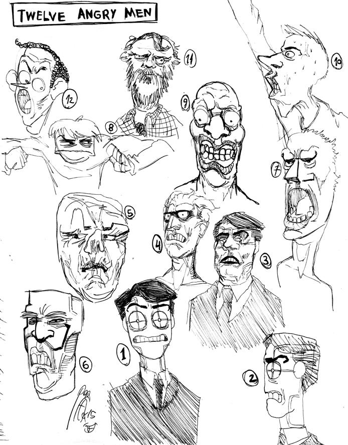 12 Angry Men by faqundo