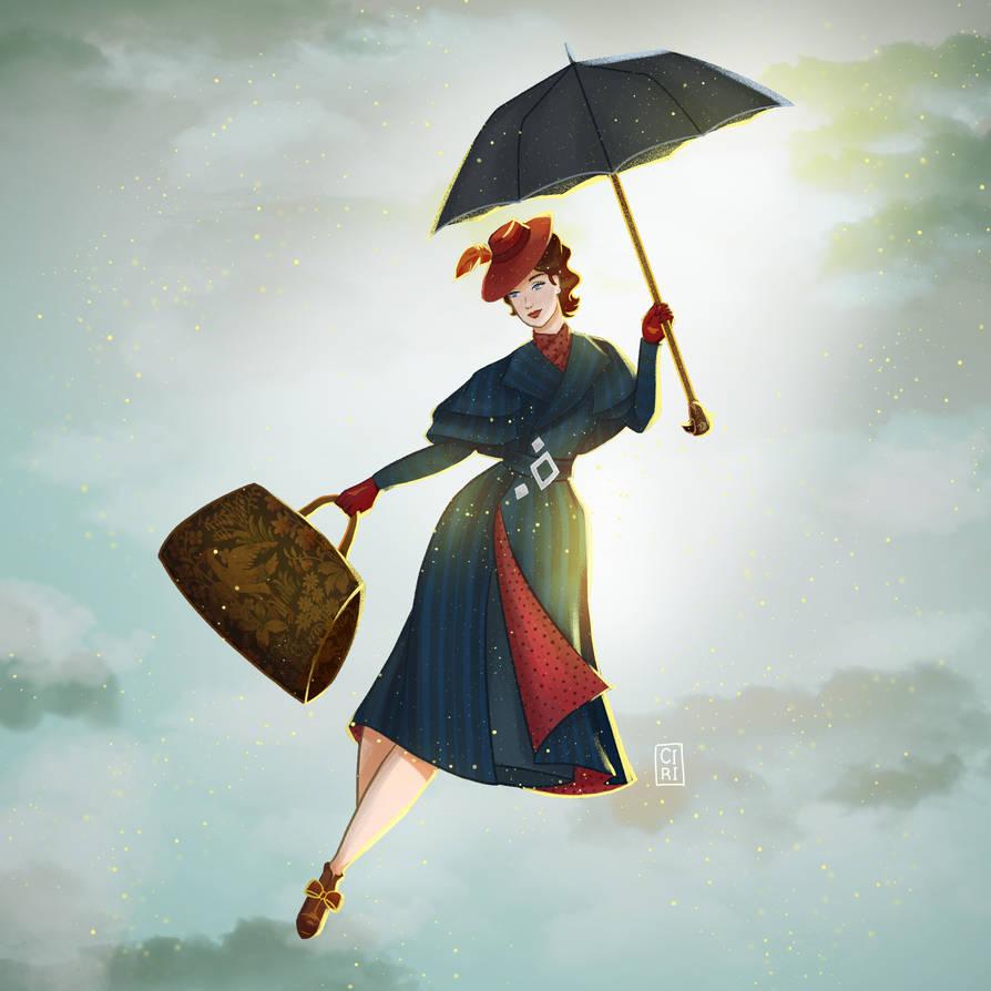 Marry Poppins Fanart