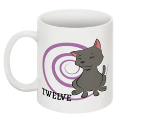 Counting Mugs 12 Figaro the Cat by FanArtGal