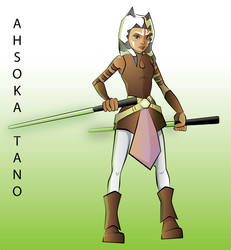 Starwars01- Ahsoka Tano by FanArtGal