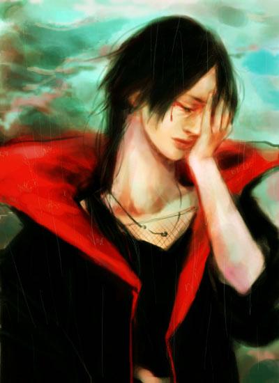 "Naruto: Itachi ""Rain"" by starbuckets"