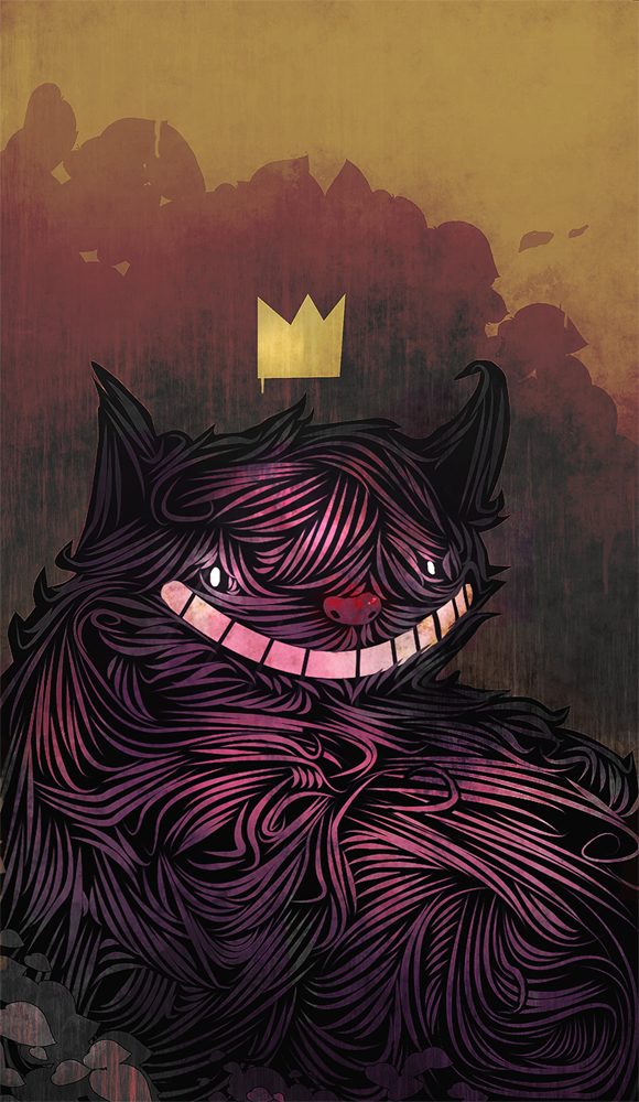 Cheshire Cat by SandroRybak