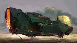spaceship by SandroRybak