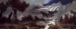 spaceship7 by SandroRybak