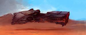 Spaceship 303043434 by SandroRybak