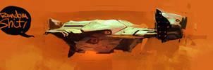 Spaceship 3030434344 by SandroRybak