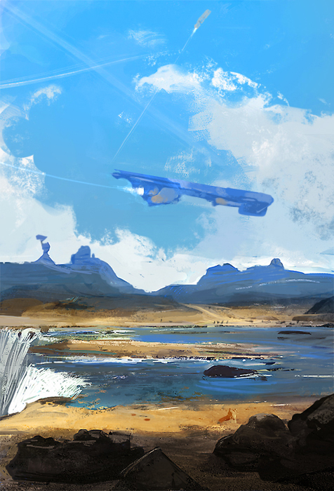 Waterfall02 by SandroRybak