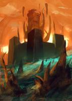 Alchemist Castle by SandroRybak