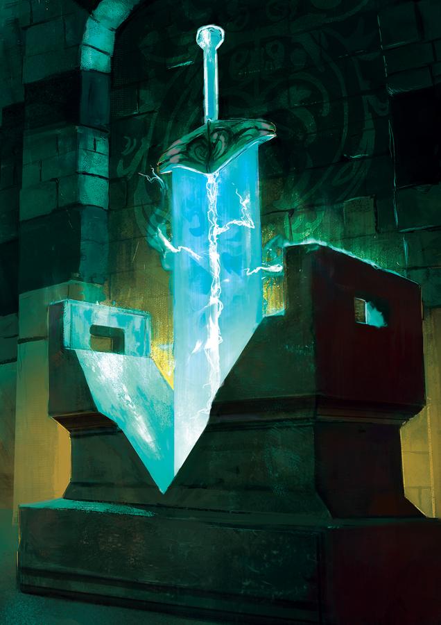 Sword of Light by SandroRybak