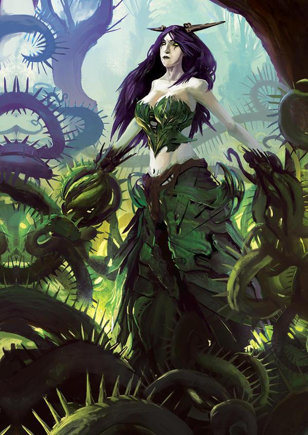 Daemonin Mother of the Forest by SandroRybak