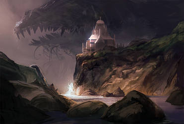 Temple of the Sea Gods by SandroRybak