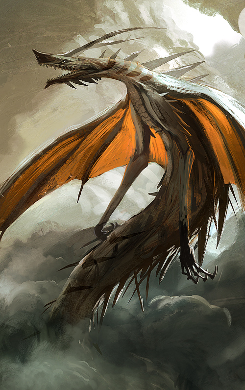 Thorn Wyvern by SandroRybak