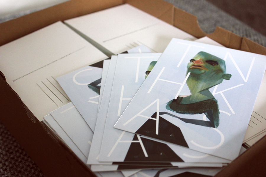 Wow, thanks guys- postcard by SandroRybak