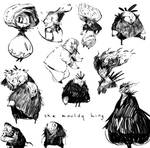 The mouldy king sketches