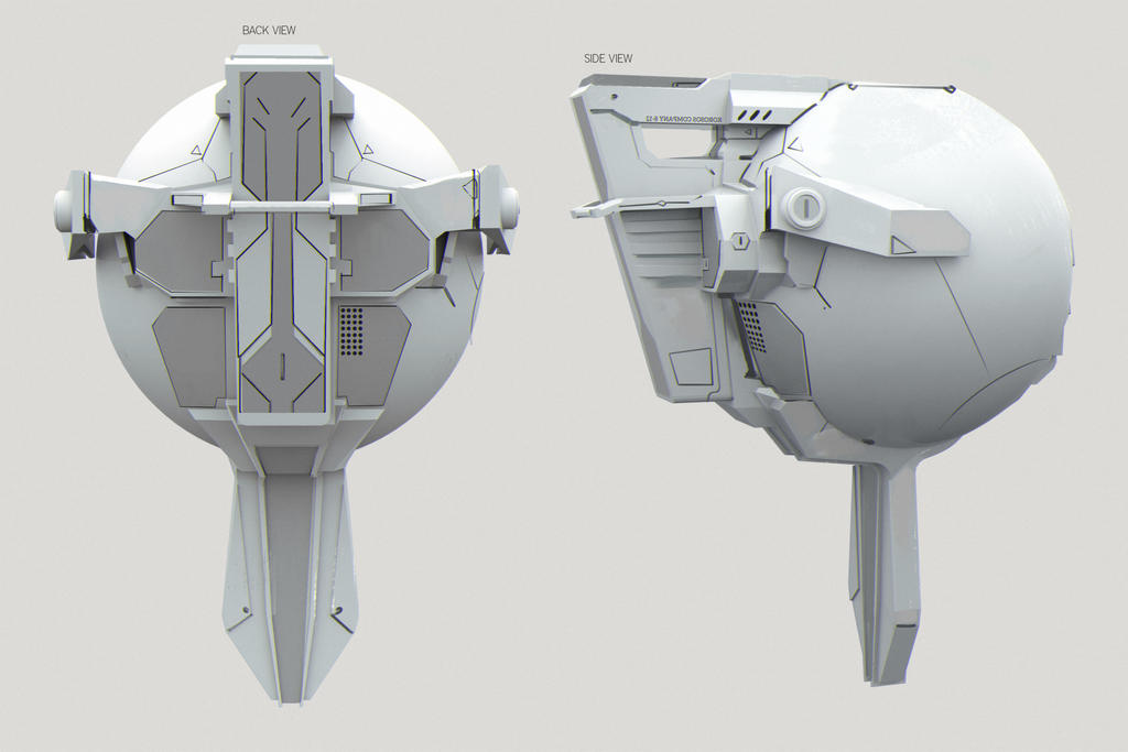Drohne Concept by SandroRybak